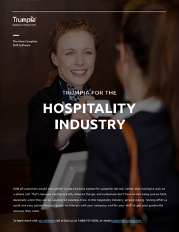 Download The SMS For Hospitality Brochure